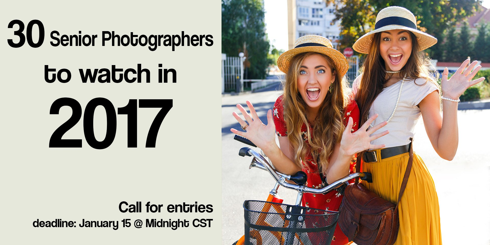 2017 Winners – 30 Senior Photographers to Watch in 2017