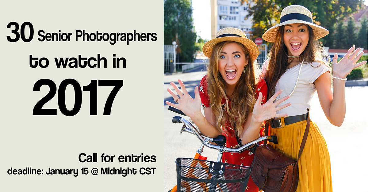 30 Senior Photographers to Watch in 2017 – Contest