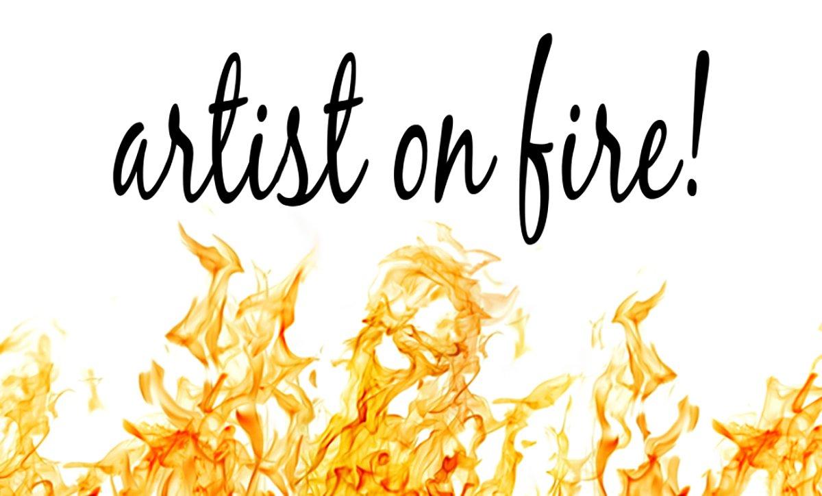 SeniorInspire Artist on Fire