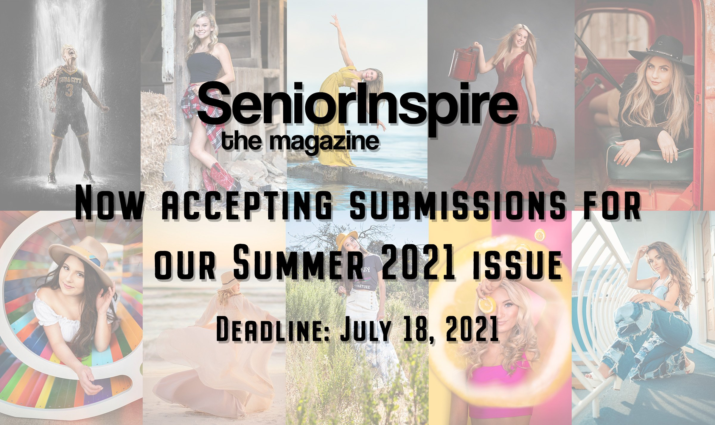 SeniorInspire the magazine – now accepting submissions for our summer 2021 issue